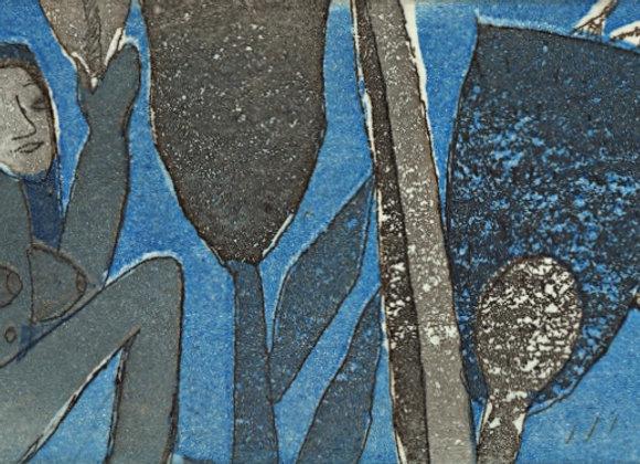 Roger Von Gunten - Sin título (azul)