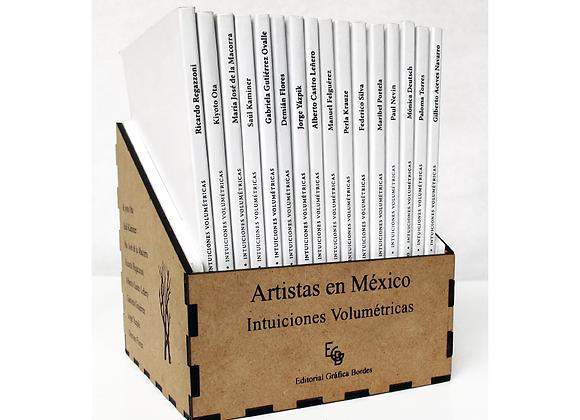 """Colección Artístas en México """"Intuiciones Volumétricas"""""""