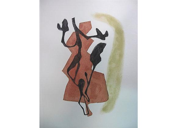 Gilda Castillo, C.H. Pino cafe, rama negra