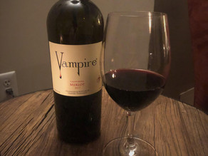 Vampire merlot does not suck