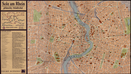 """Map of Scôz am Rhein"" (1999)"