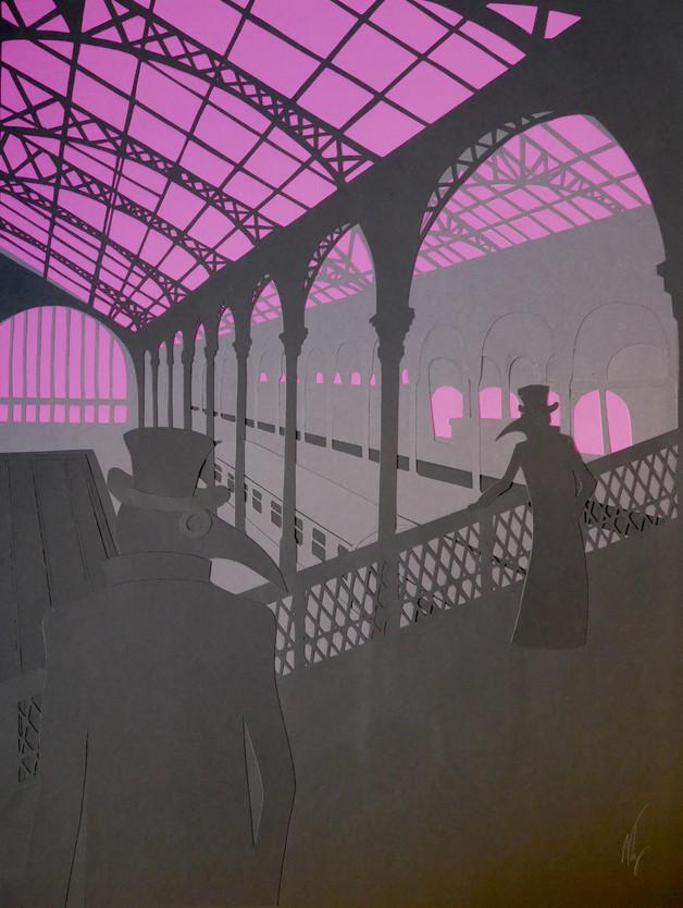 La Gare (Social Distancing I) (2020)