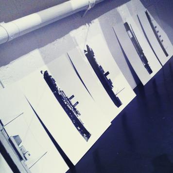 """printar från uställningen """"Vessels"""" (2010)"""