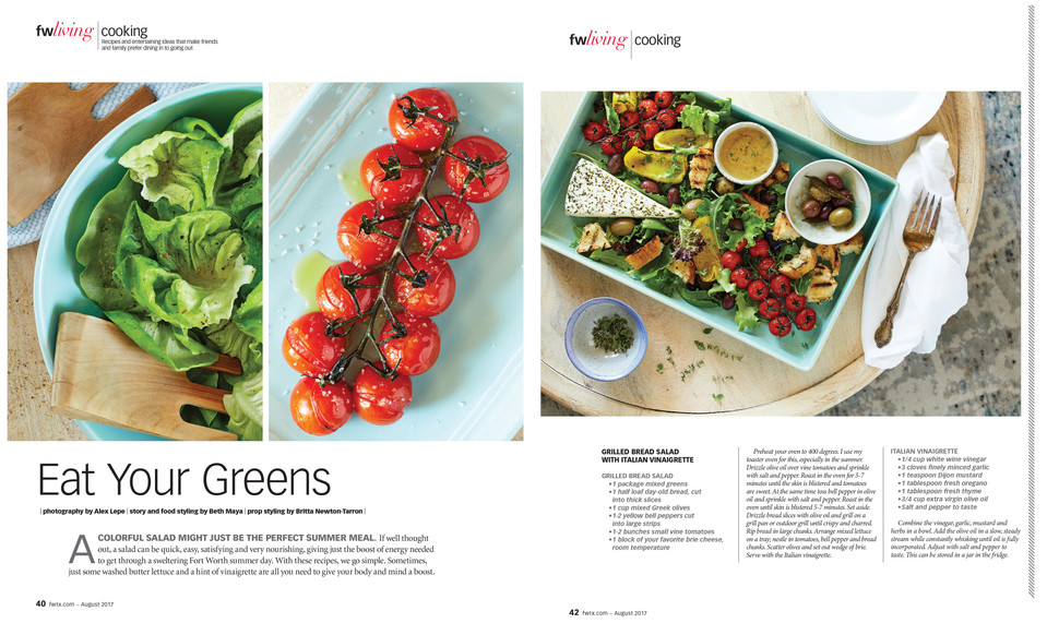 Food Stylist | Beth Maya | Dallas TX