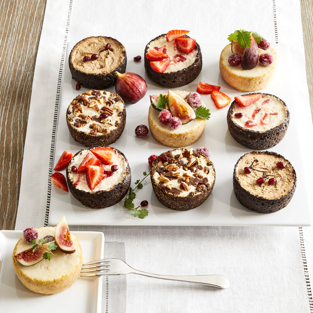Mini Cheesecake Sampler