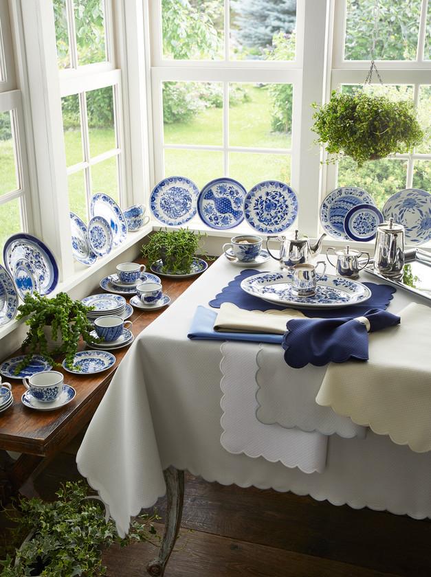 Blue White Dinnerware