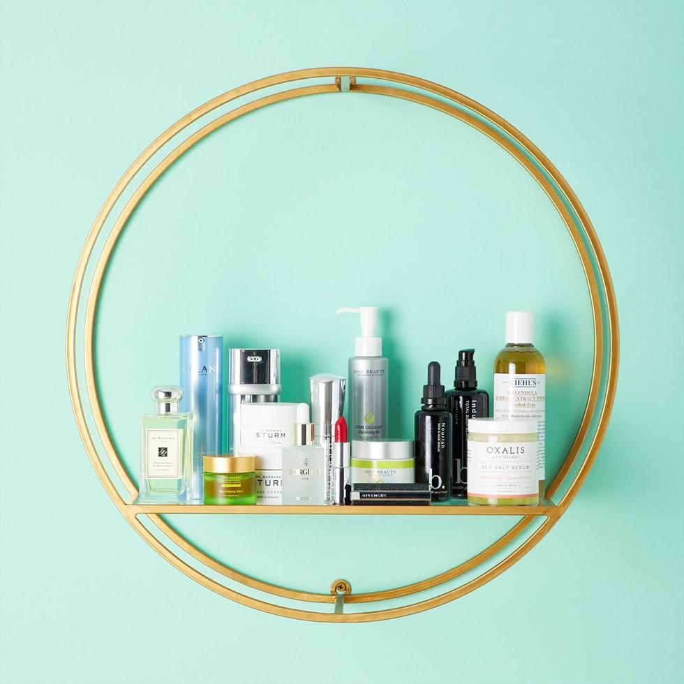 Beauty Product Shelfie