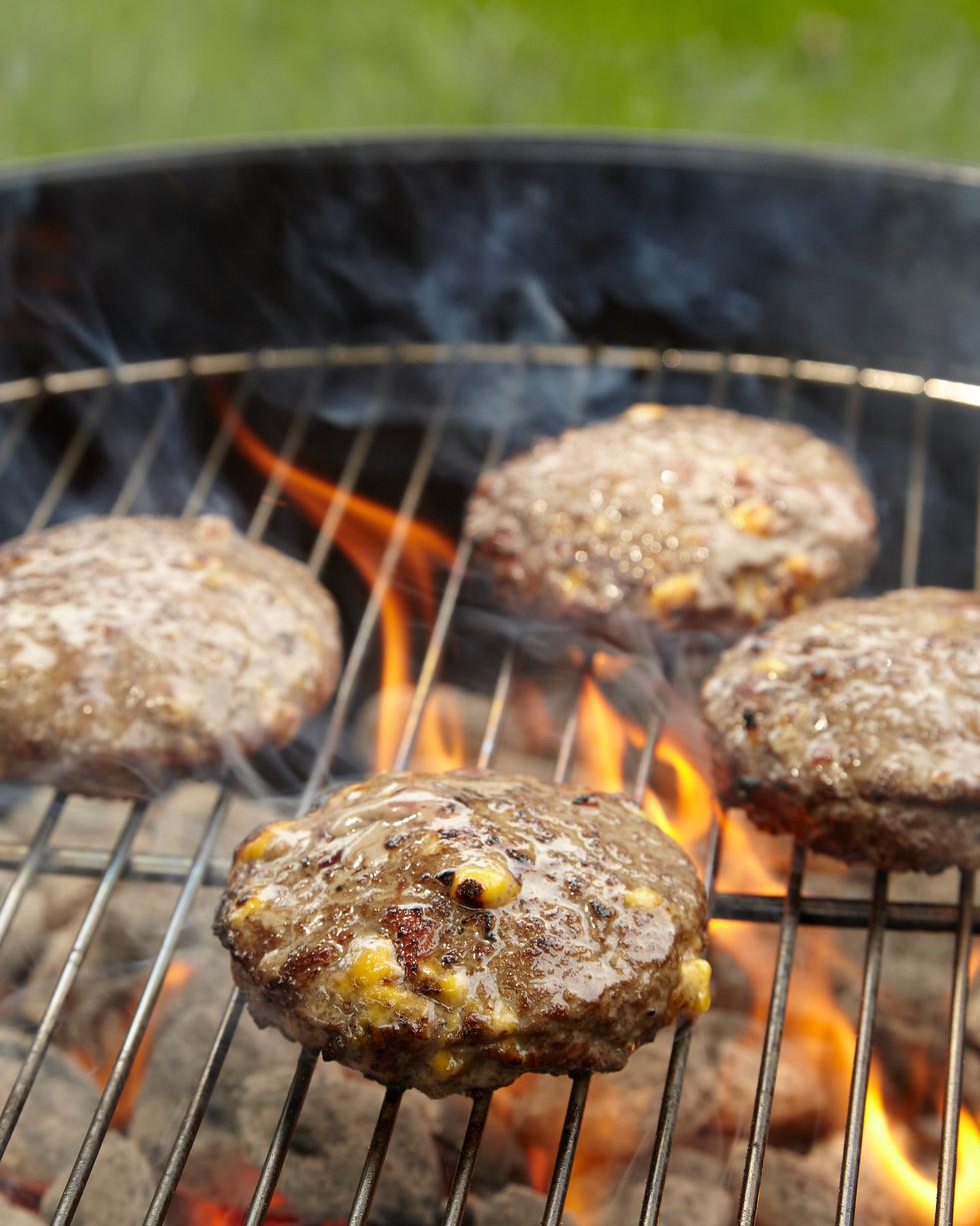 Neiman Marcus Cheeseburger On Grill