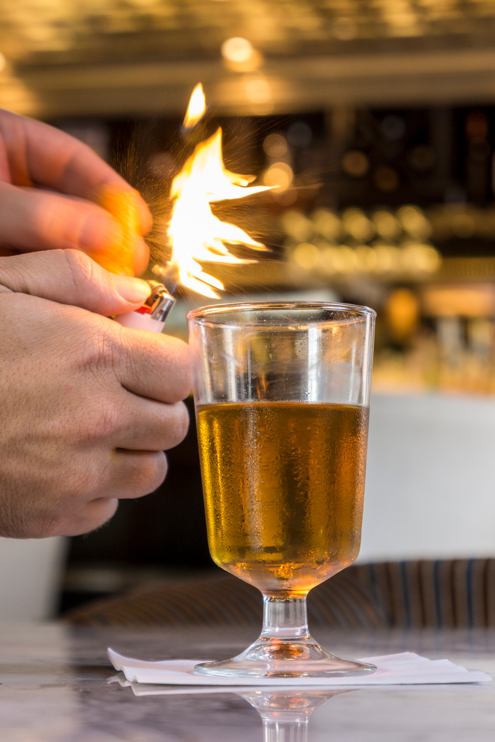 Cocktail Flame