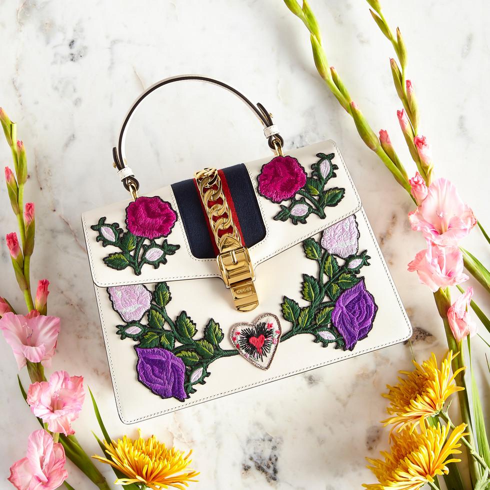 Gucci Floral Bag