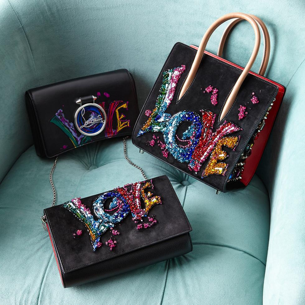 Louboutin Love Bags