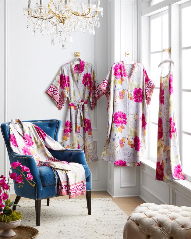 Natori Purple Orchid Loungewear