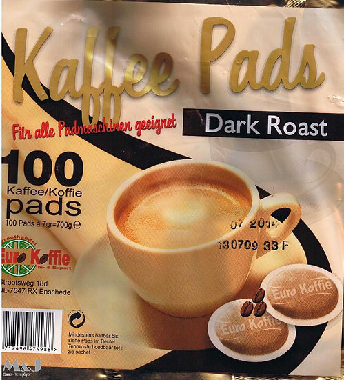 Kaffee Pads Dark Roast / 100 чалд.
