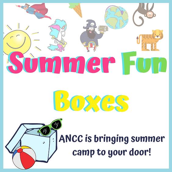 Summer Activity Box Registration