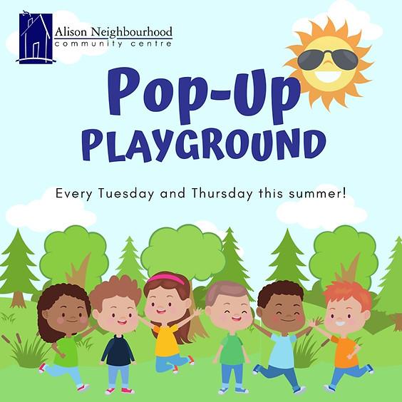 Pop-Up Summer Playground