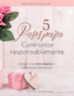 5 Pasos para confrontar responsablemente