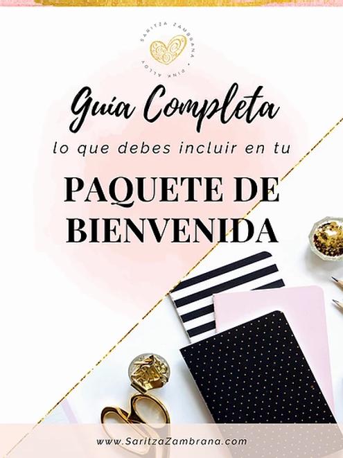 Guía Completa para Crear tu Paquete de Bienvenida + Plantillas.
