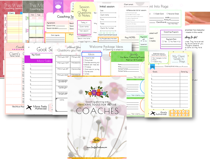 Coaching Planner & Tracking Tools for Active Coaches.