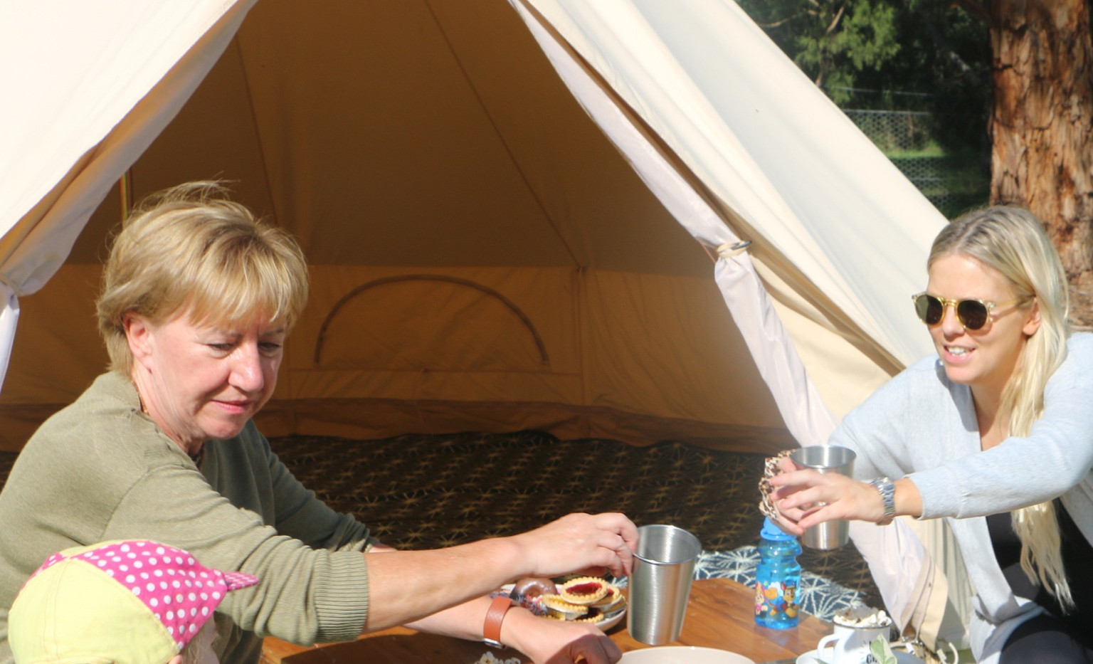 Wow Tents kidsKAMP Family Fun Dining