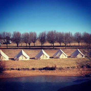 Lakeside Glamping Tents