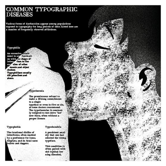 Typography diseases