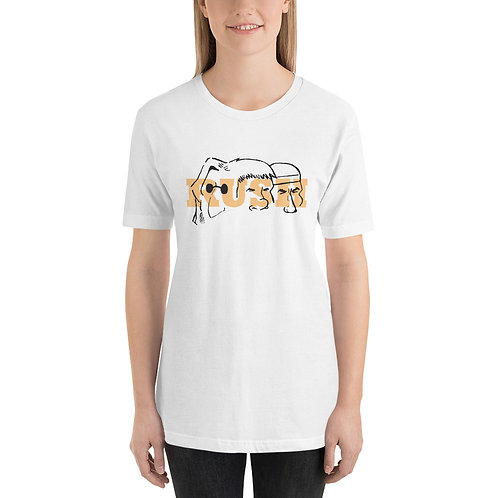 Mount Rush-more Golden Short-Sleeve Unisex T-Shirt