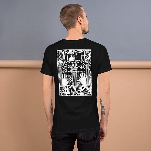 Genesis Poster White Design Short-Sleeve Unisex T-Shirt