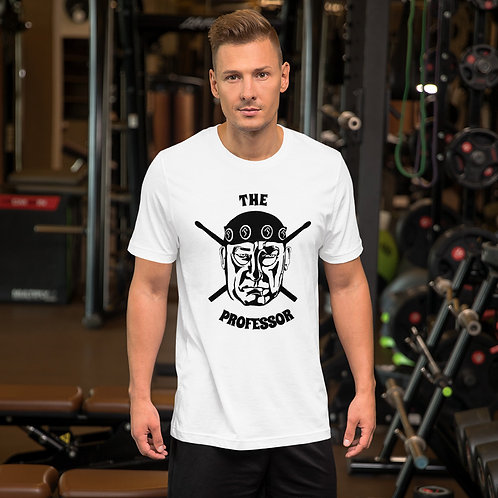 The Professor on Drumsticks Unisex T-shirt