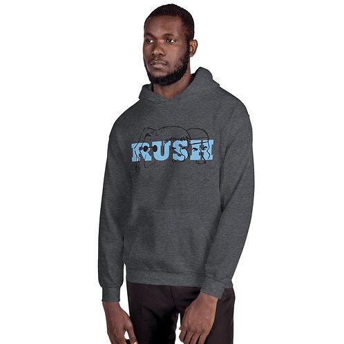 Mount Rush-more Blue Unisex Hoodie