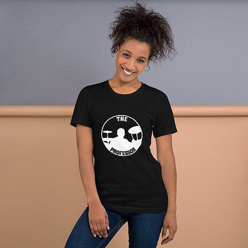 The Professor Silhouette Black Unisex T-Shirt