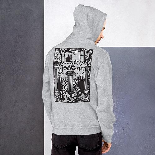 Genesis Poster Black Design Unisex Hoodie