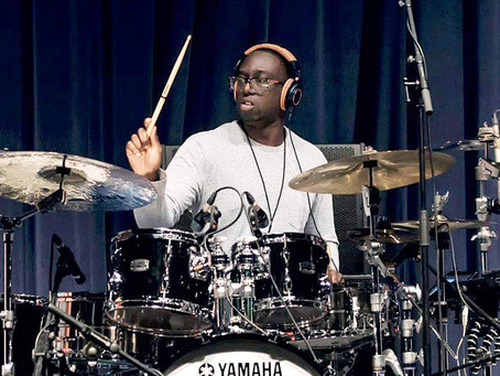 Larnell Lewis learned most of Snarky Puppy's We Like It Here on a flight before recording the album!