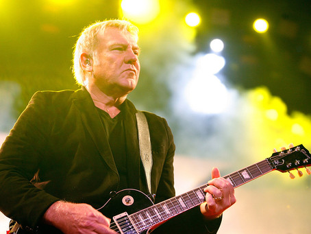 """Alex Lifeson was a guest soloist in Porcupine Tree's """"Anesthetize"""""""