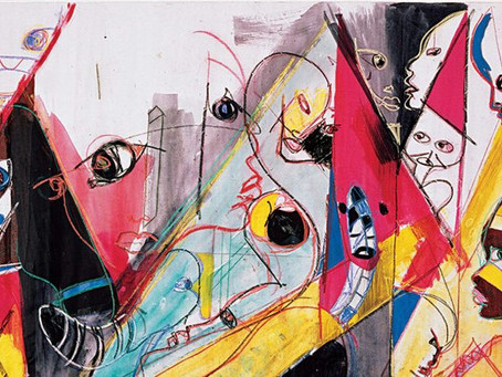 Miles Davis was also a painter!