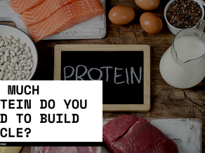 How much protein do you need to build muscle?