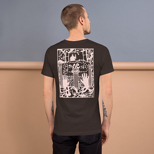 Genesis Poster Pink Design Short-Sleeve Unisex T-Shirt