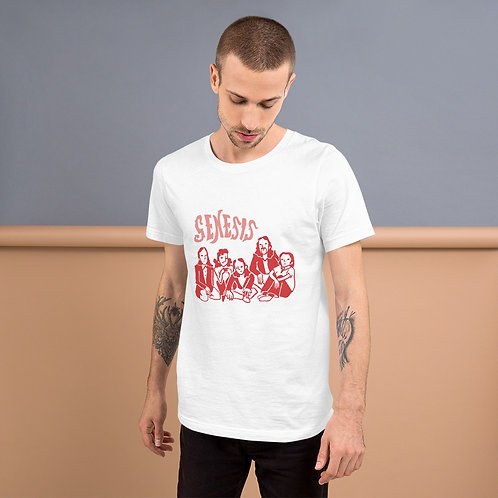 Genesis Members Red Illustration Unisex T-Shirt
