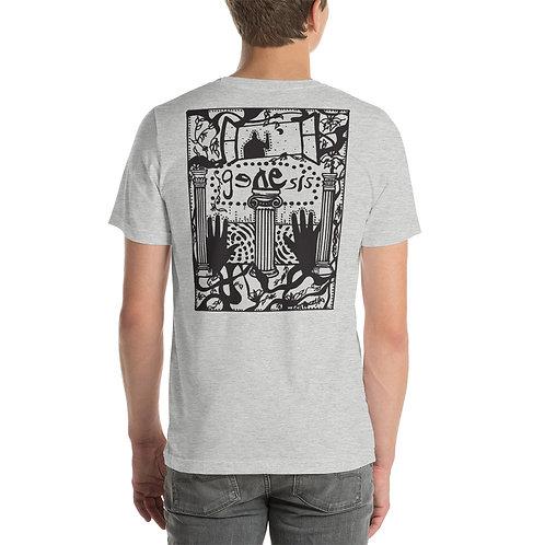 Genesis Poster Black Design Unisex T-Shirt