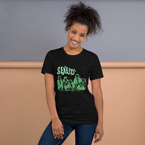 Genesis Members Green Illustration Unisex T-Shirt