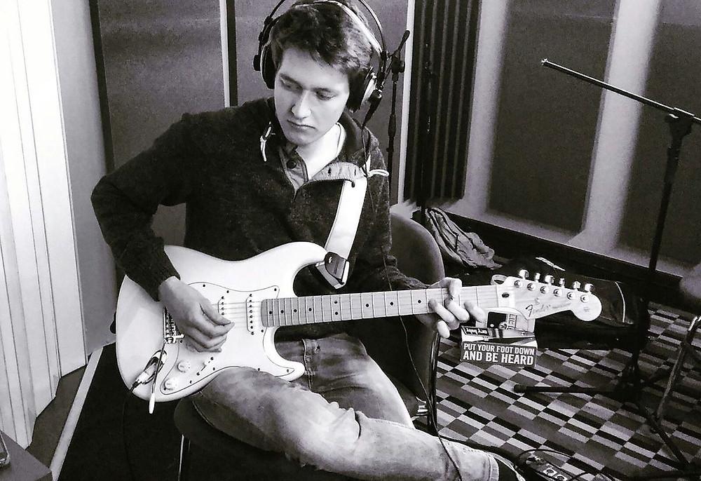 Guitarist Yuri Crescenzio