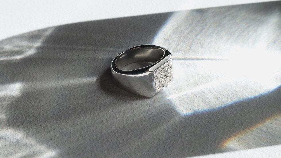 Beach combing_no.03 [silver] (ring)
