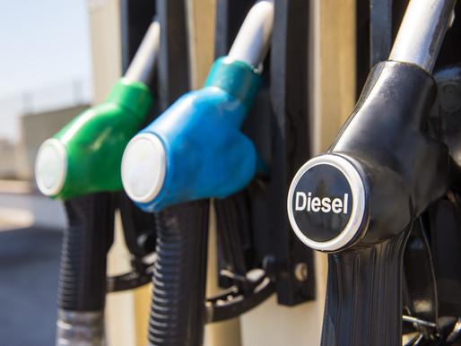 Adição de biodiesel e redução do enxofre no diesel mineral