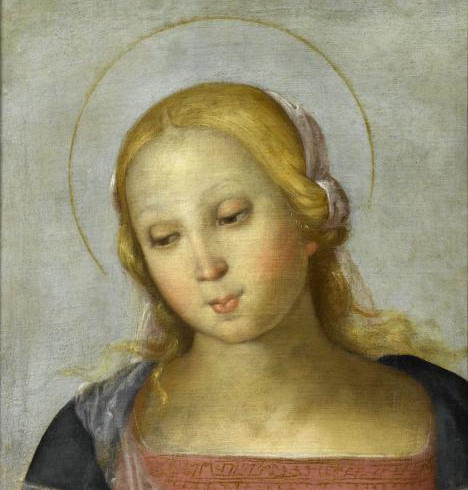Bust of a Saint by Perugino