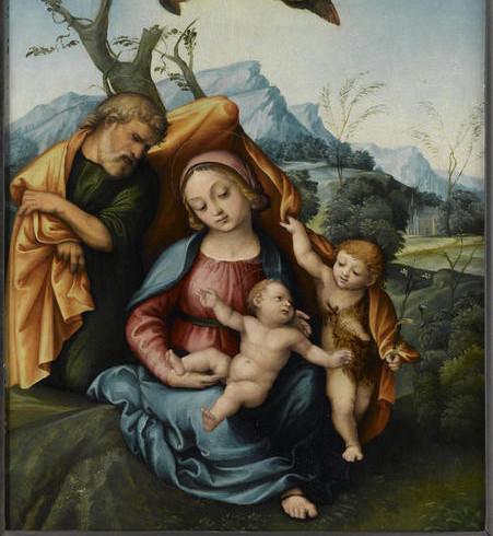 La-Sainte-Famille-avec-le-petit-saint-Je