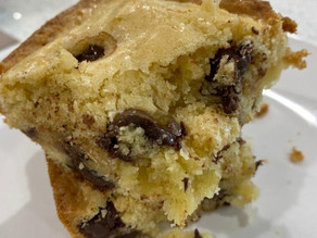 homemade blondie