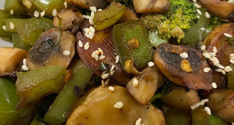 vitamin filled vegetable stir fry