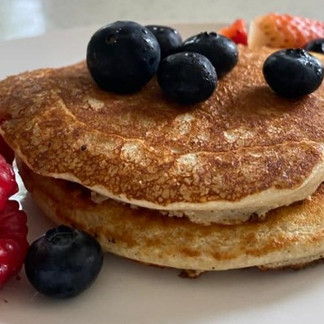 protein filled pancakes