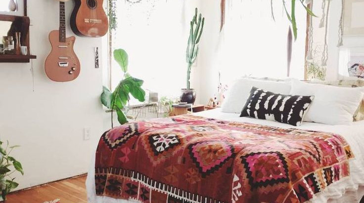 5 ways to turn your bedroom from 'slob rob' to 'boho bob'