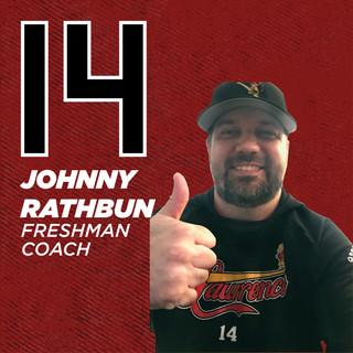Coach Johnny Rathbun