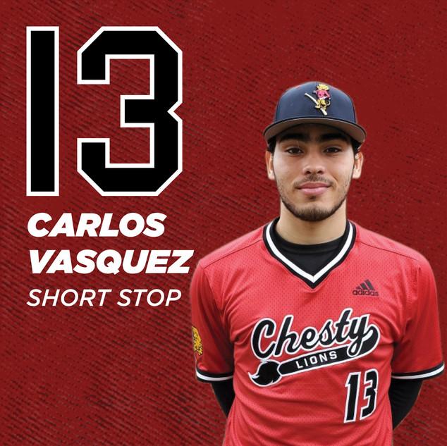 #13 Carlos Vasquez